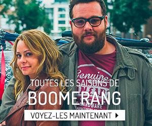 Visionnement en rafale : toutes les saisons de Boomerang!