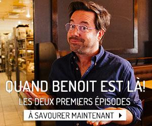 Découvrez dès maintenant les deux premiers épisodes de Quand Benoit est là!