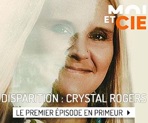 Voyez le premier épisode de la docu-série Disparition : Crystal Rogers!