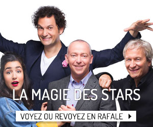 Voyez ou revoyez les deux premières saisons de La magie des stars en rafale!