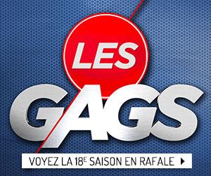 Voyez ou revoyez en rafale les épisodes de la 18e saison de Les Gags!