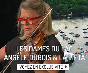 Voyez en exclusivité le concert Les Dames du Lac d'Angèle Dubois & La Pietà!